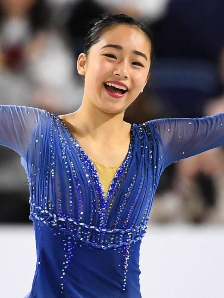 山下真瑚はフィギュアスケートの新星、かわいい素顔、NHK杯2019へ!