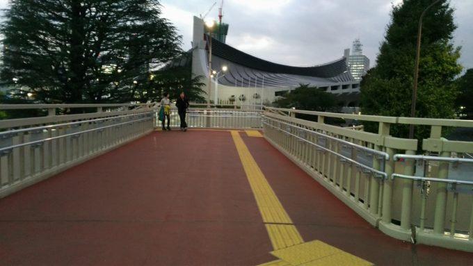 国立代々木競技場第一体育館前