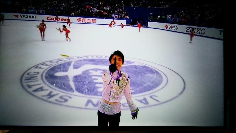 羽生結弦10年間の軌跡(NHK杯)の再放送、総合でも!神演技がノーカットで!
